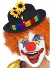 Funny Side Comedy Clown Bowler Hat